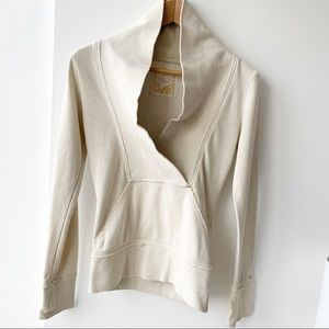 Aritzia Talula Shawl Collar Sweatshirt